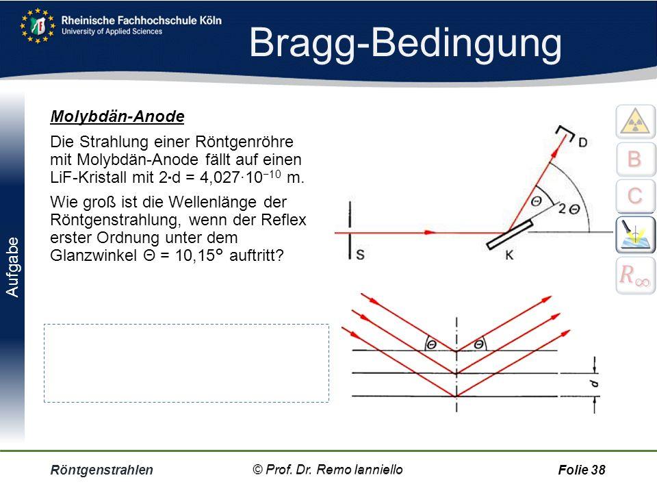 Bragg-Bedingung