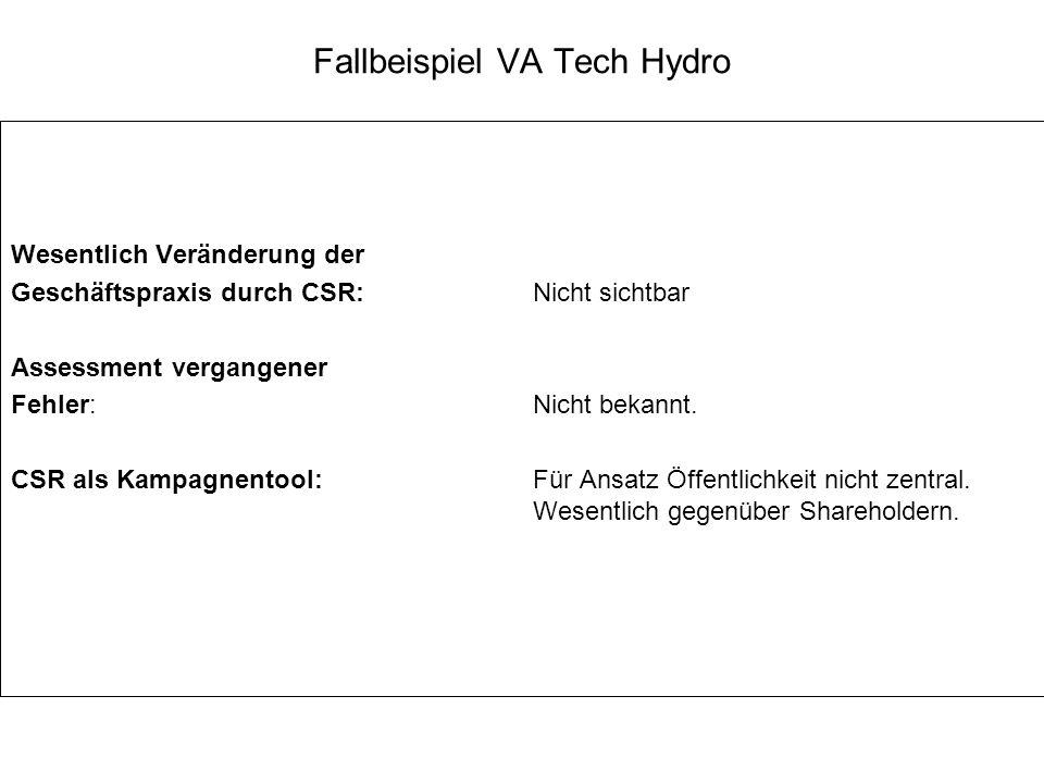 Fallbeispiel VA Tech Hydro