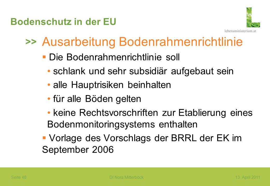 Ausarbeitung Bodenrahmenrichtlinie