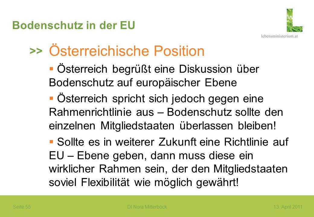 Österreichische Position