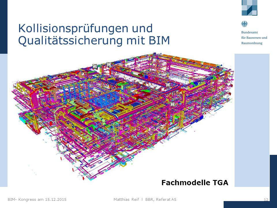 Kollisionsprüfungen und Qualitätssicherung mit BIM