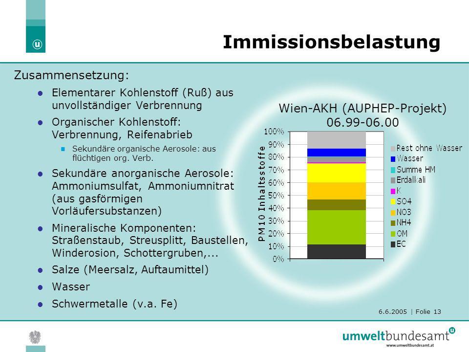 Wien-AKH (AUPHEP-Projekt) 06.99-06.00