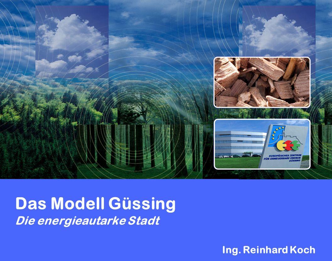 Das Modell Güssing Die energieautarke Stadt