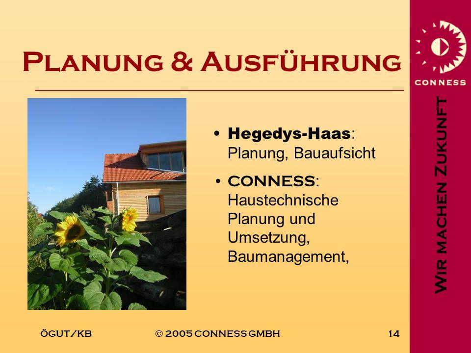 Planung & Ausführung Hegedys-Haas: Planung, Bauaufsicht