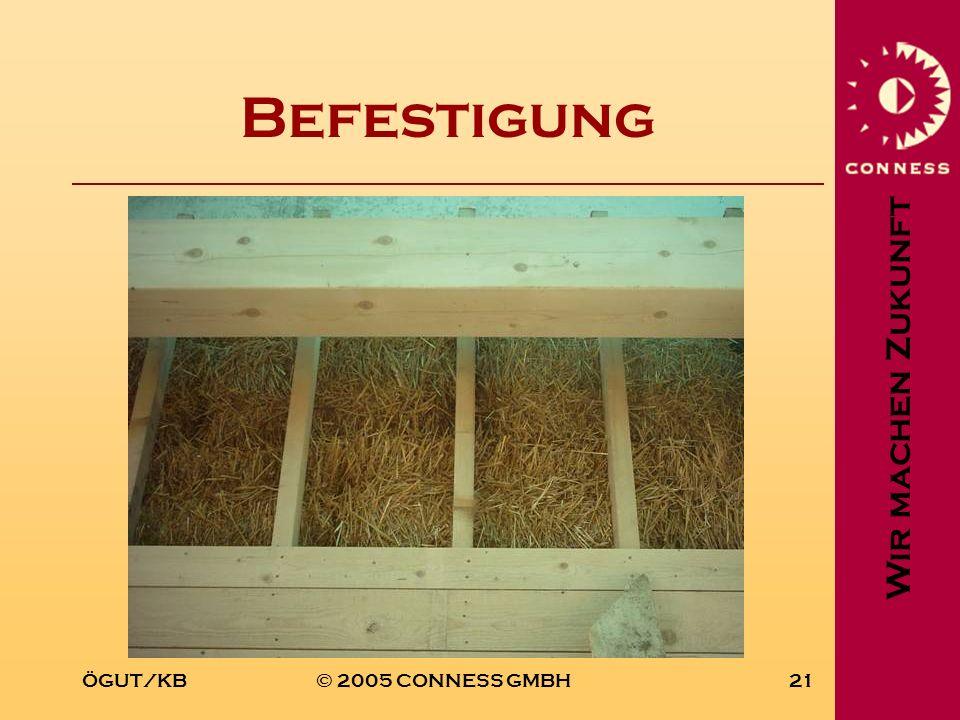 Befestigung ÖGUT/KB © 2005 CONNESS GMBH