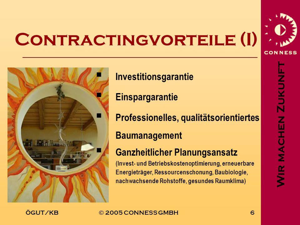 Contractingvorteile (I)