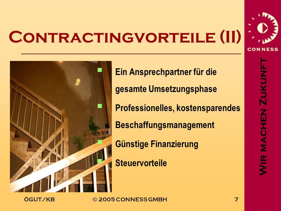 Contractingvorteile (II)