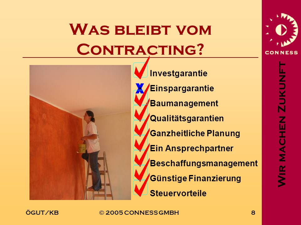 Was bleibt vom Contracting