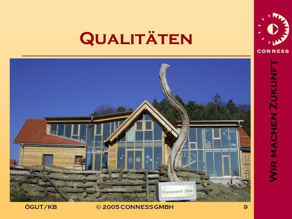 Qualitäten ÖGUT/KB © 2005 CONNESS GMBH