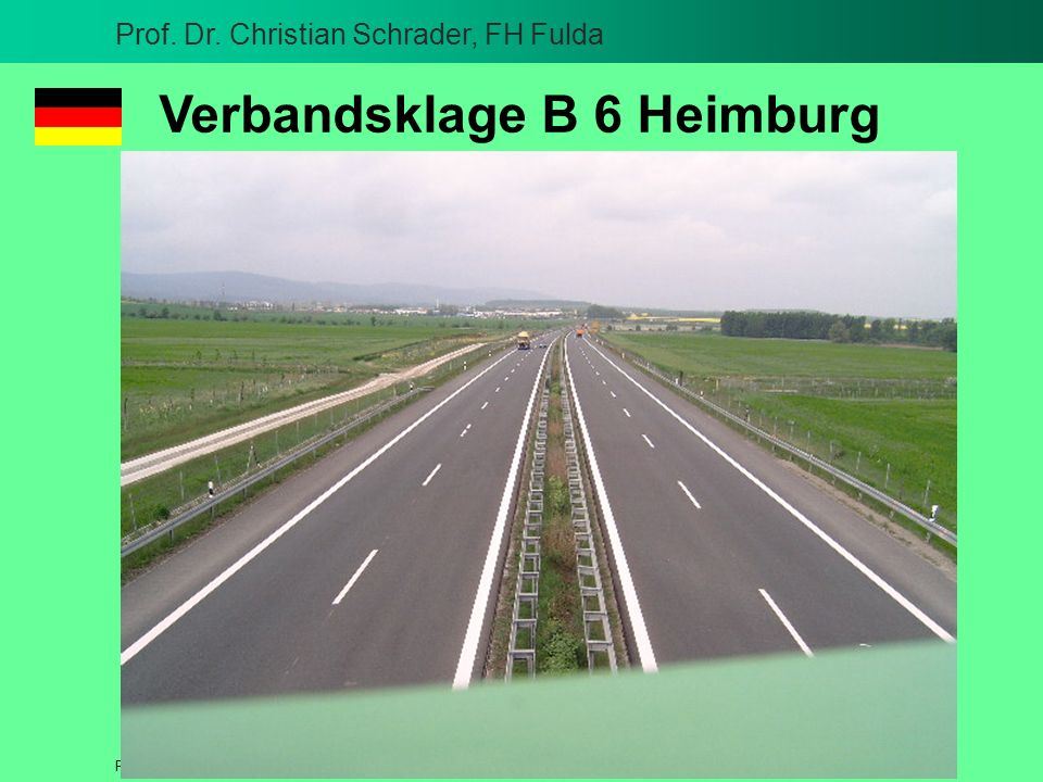 Verbandsklage B 6 Heimburg