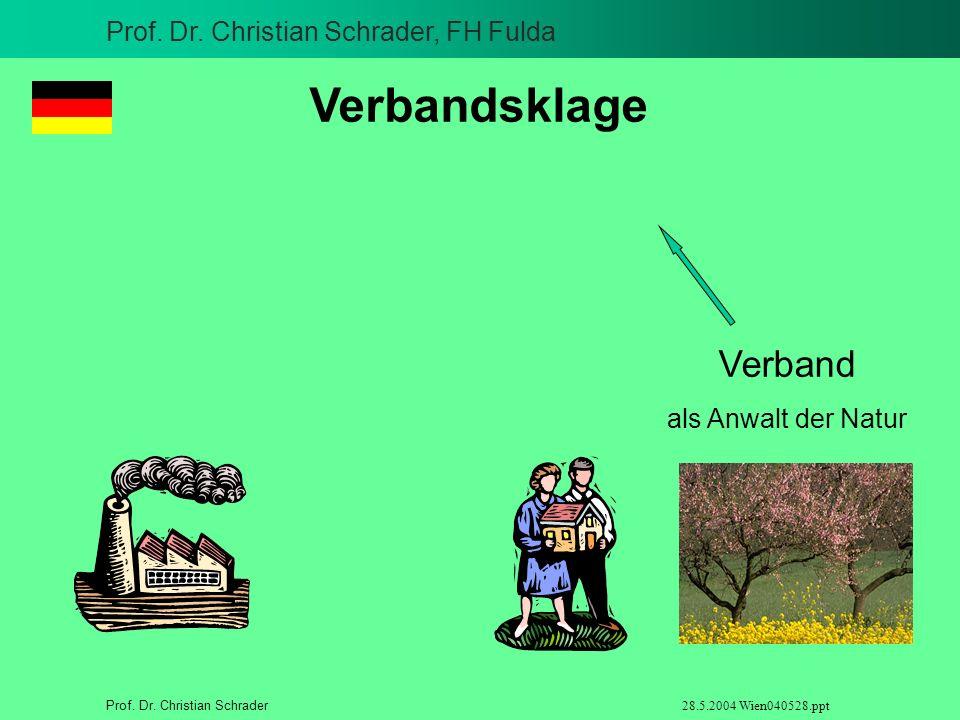 Verbandsklage Verband