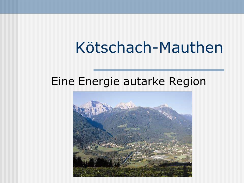 Eine Energie autarke Region