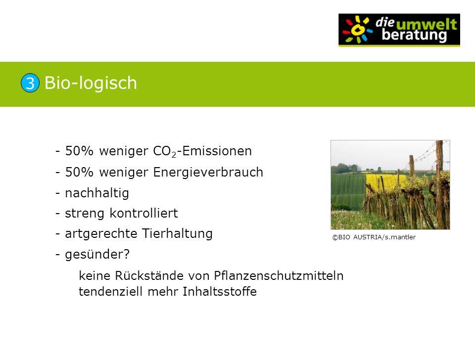 Bio-logisch 3 - 50% weniger CO2-Emissionen