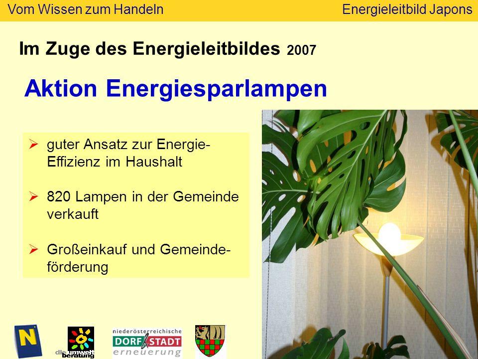 Aktion Energiesparlampen