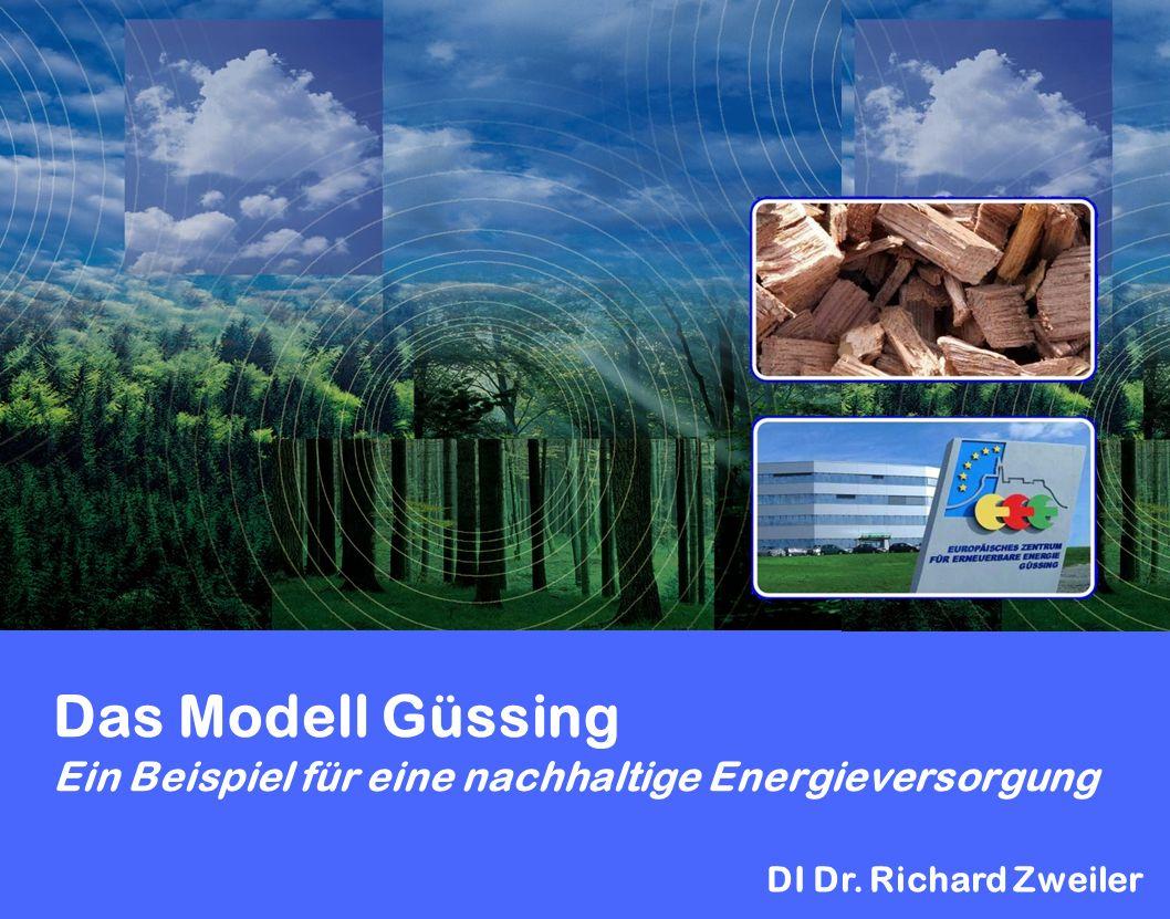Das Modell Güssing Ein Beispiel für eine nachhaltige Energieversorgung