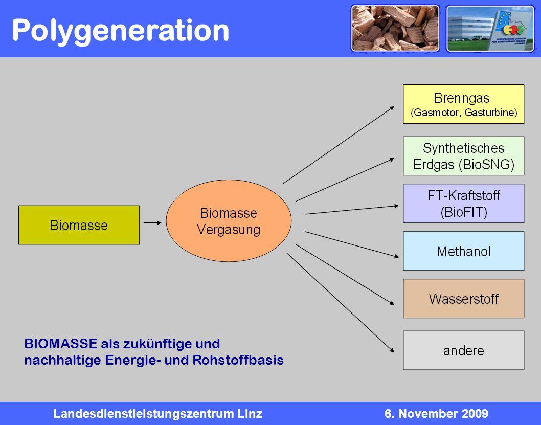 Polygeneration BIOMASSE als zukünftige und