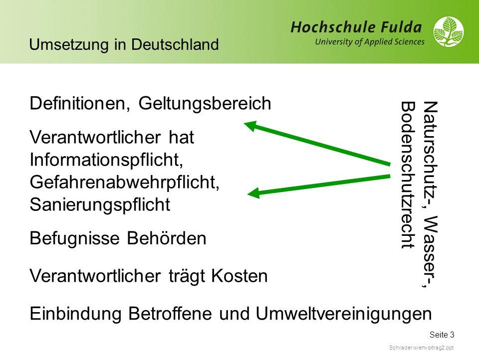 1:1-Umsetzung der Pflichtinhalte