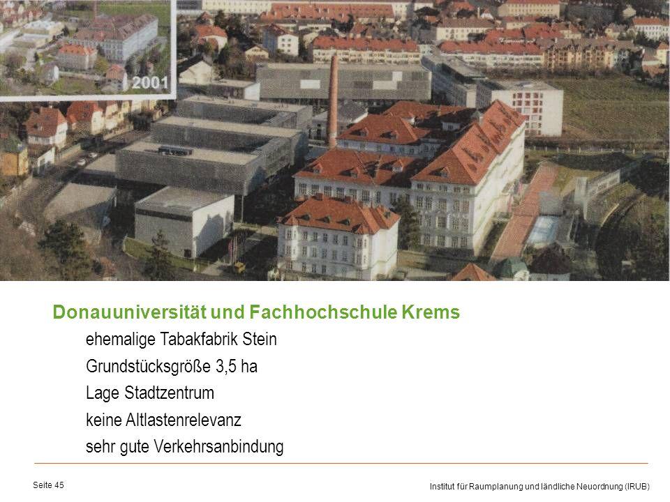 Donauuniversität und Fachhochschule Krems
