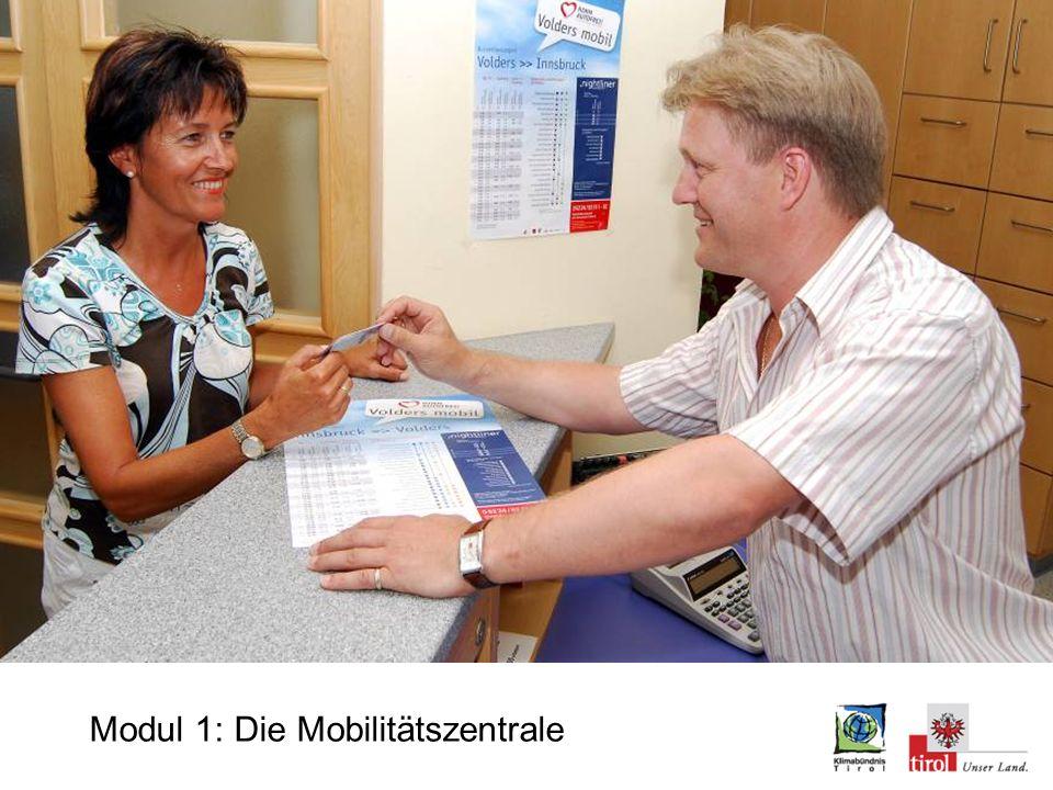 Modul 1: ÖPNV Mobilitätsauskunft am Gemeindeamt