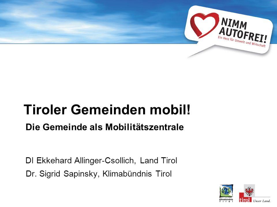 Tiroler Gemeinden mobil!