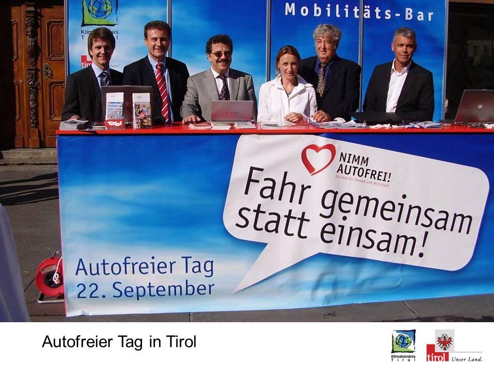 Autofreier Tag in Tirol