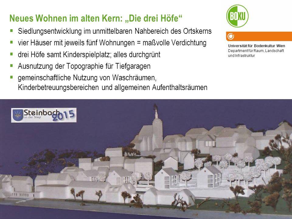 """Neues Wohnen im alten Kern: """"Die drei Höfe"""