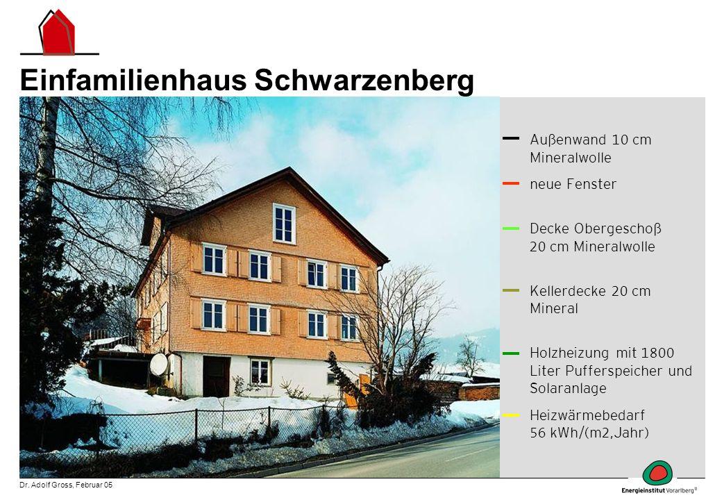 Einfamilienhaus Schwarzenberg