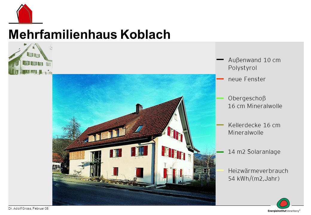 Mehrfamilienhaus Koblach