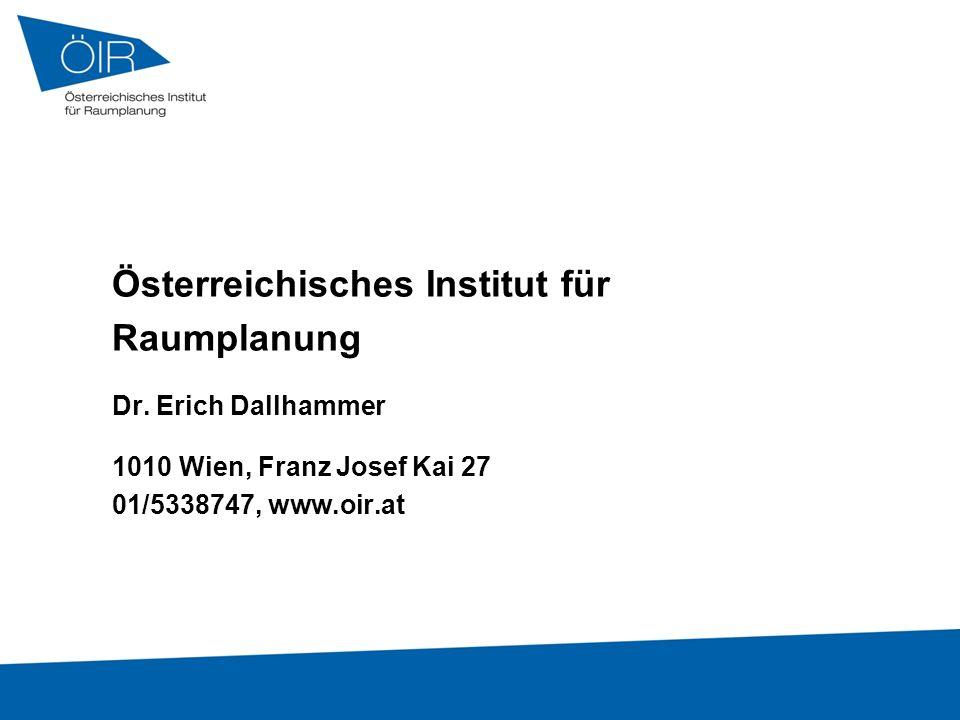 Österreichisches Institut für Raumplanung