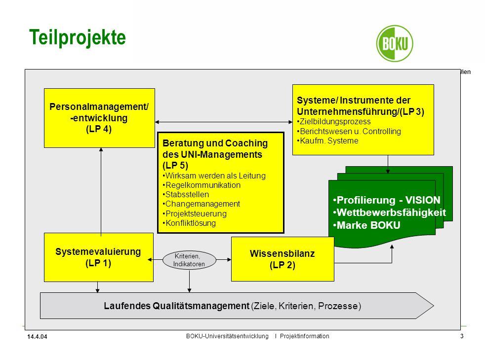 Laufendes Qualitätsmanagement (Ziele, Kriterien, Prozesse)