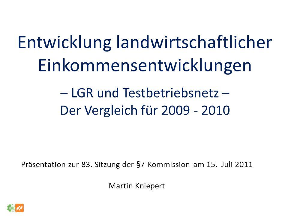 Präsentation zur 83. Sitzung der §7-Kommission am 15. Juli 2011
