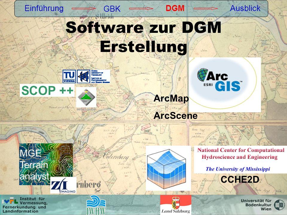 Software zur DGM Erstellung