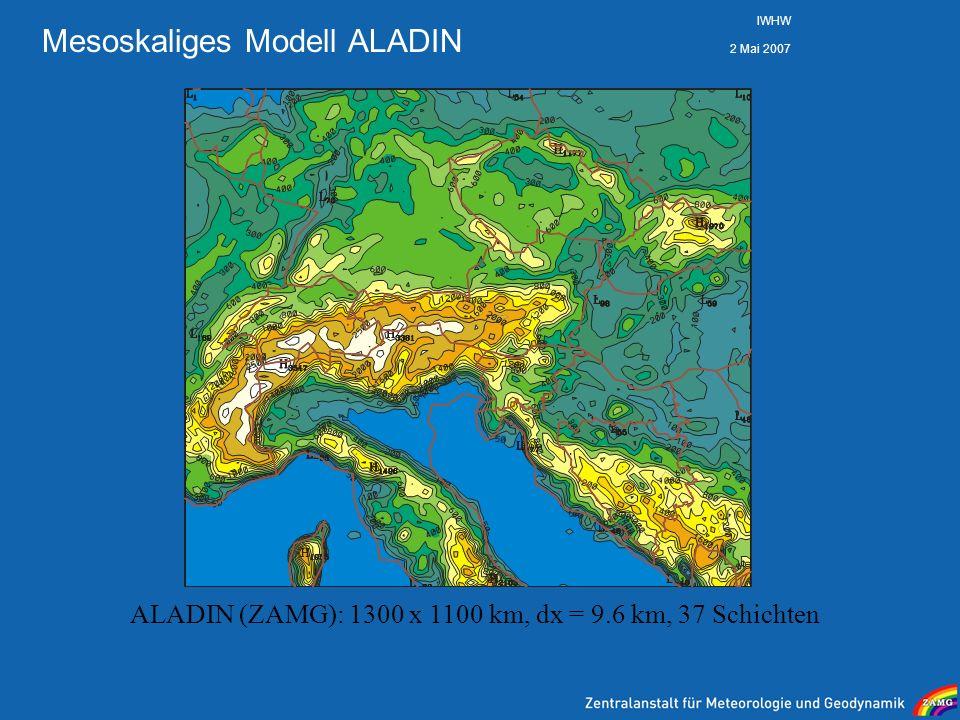 Mesoskaliges Modell ALADIN