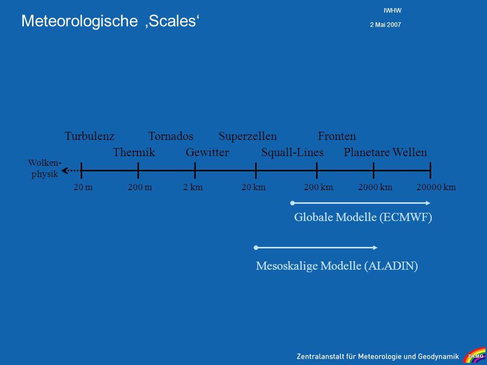 Meteorologische 'Scales'