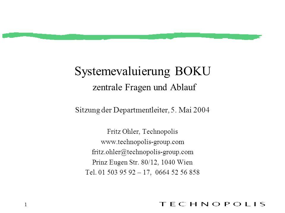 Fritz Ohler, Technopolis