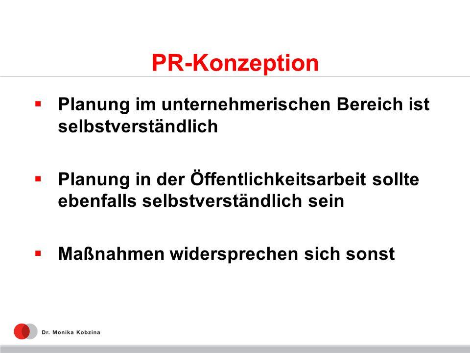 PR-Konzeption Planung im unternehmerischen Bereich ist selbstverständlich.