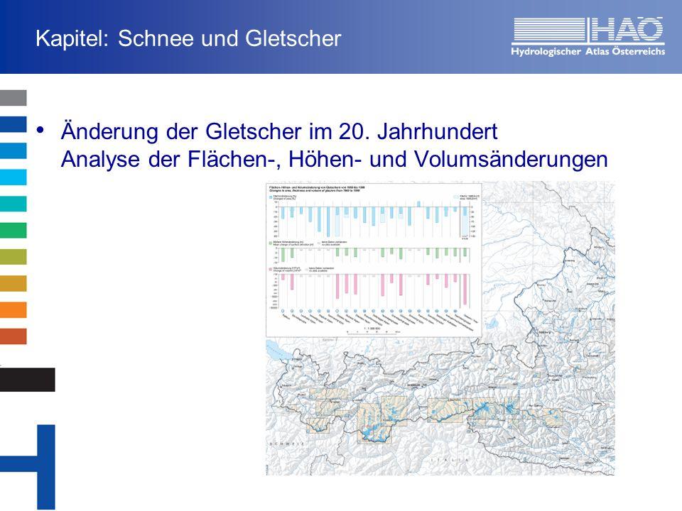 Kapitel: Schnee und Gletscher