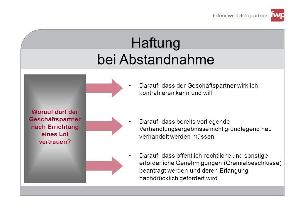 Struktur und Inhalt einer Geheimhaltungsvereinbarung III