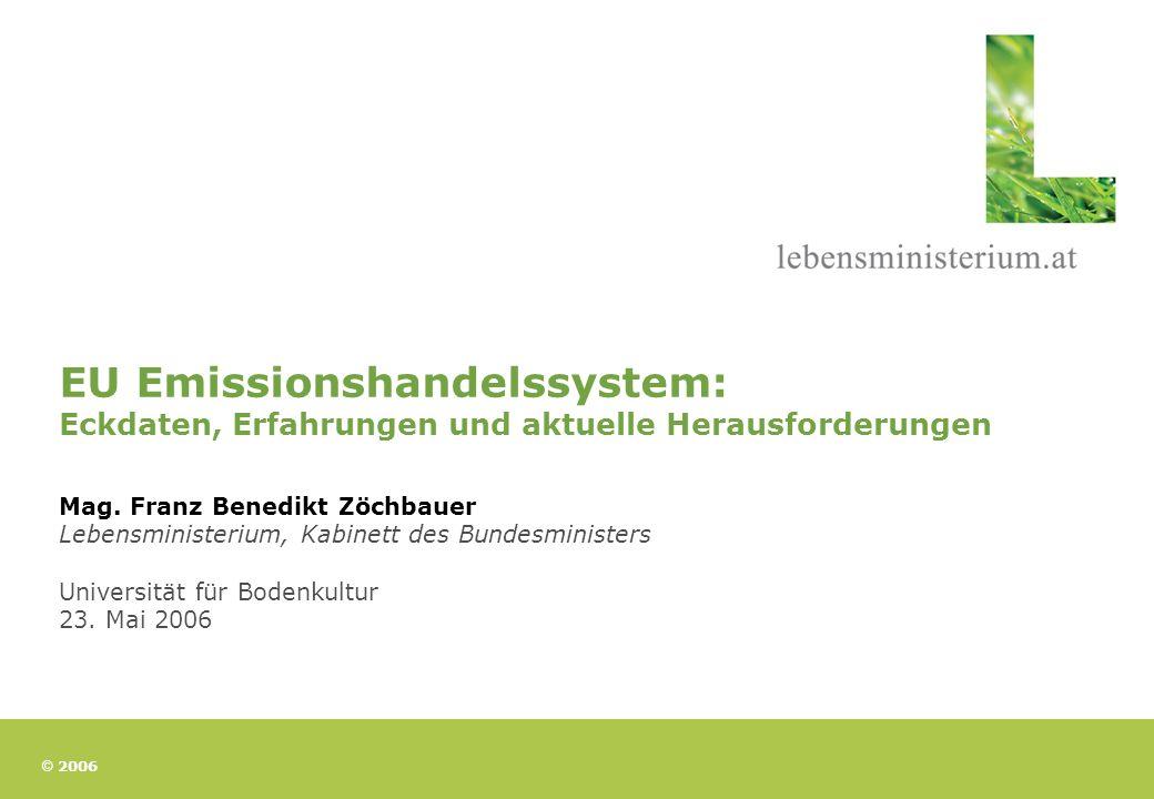 EU Emissionshandelssystem: