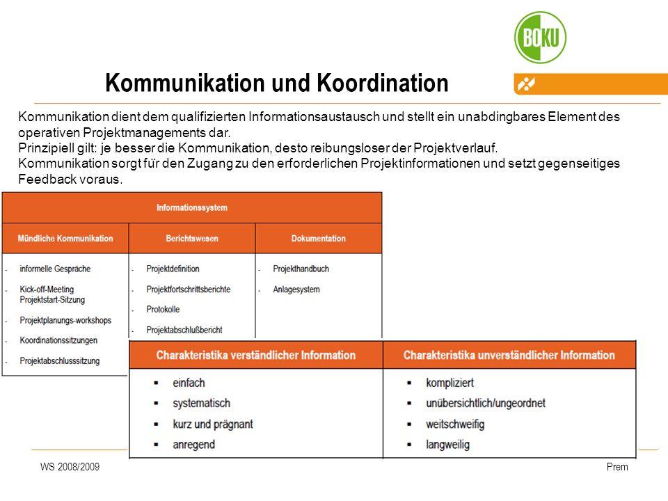 Kommunikation und Koordination