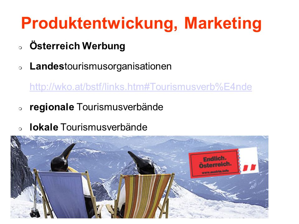 Produktentwickung, Marketing