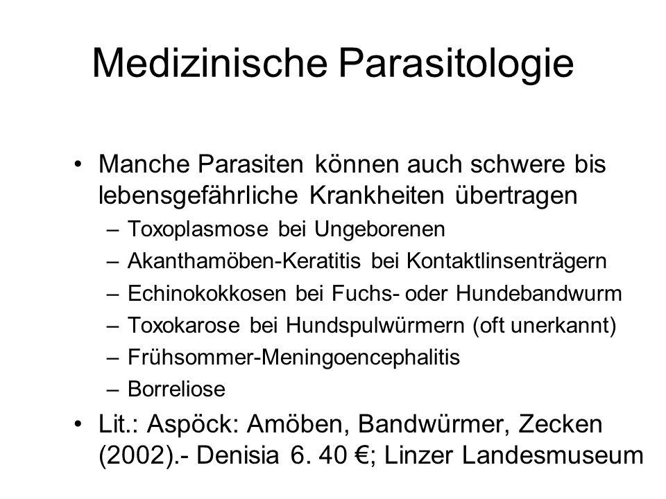 Medizinische Parasitologie