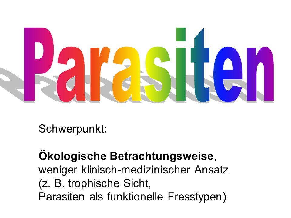 Parasiten Schwerpunkt: