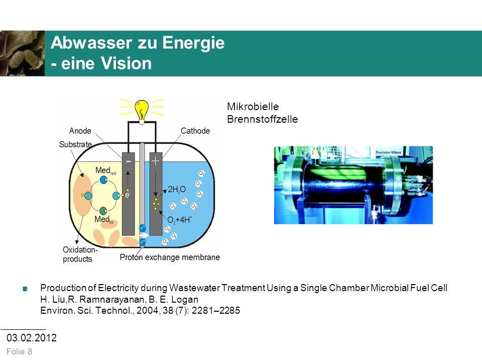 Abwasser zu Energie - eine Vision