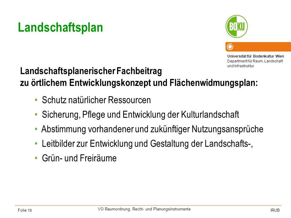 Grünordnungsplan Landschaftsplanerischer Fachbeitrag zum Bebauungsplan auf Gemeindeteilebene: Ausmaß, Lage und Nutzungsart der Grünflächen.