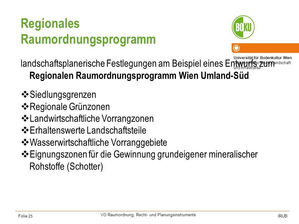 Regionales Raumordnungsprogramm