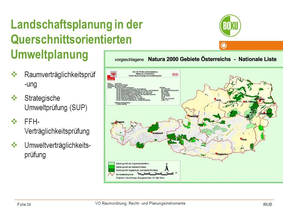 Landschaftsplanung im Naturschutz(-gesetz)