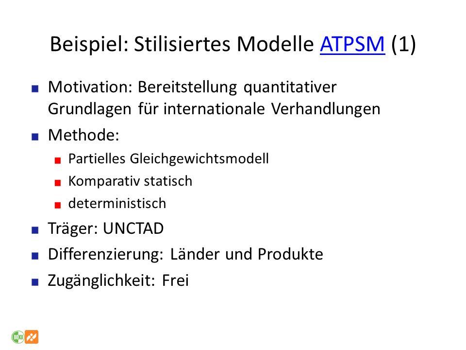 Beispiel: Stilisiertes Modelle ATPSM (1)
