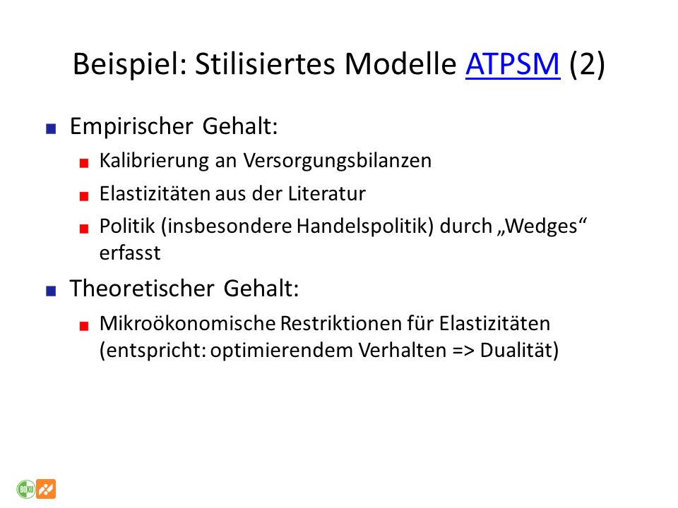 Beispiel: Stilisiertes Modelle ATPSM (2)