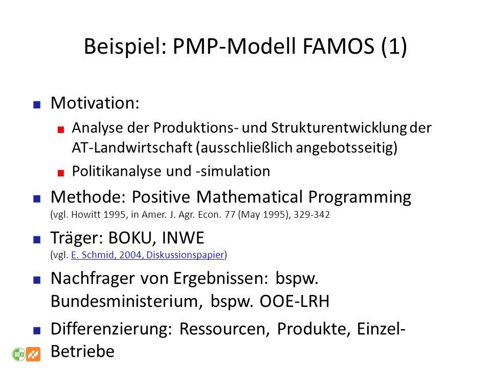 Beispiel: PMP-Modell FAMOS (1)